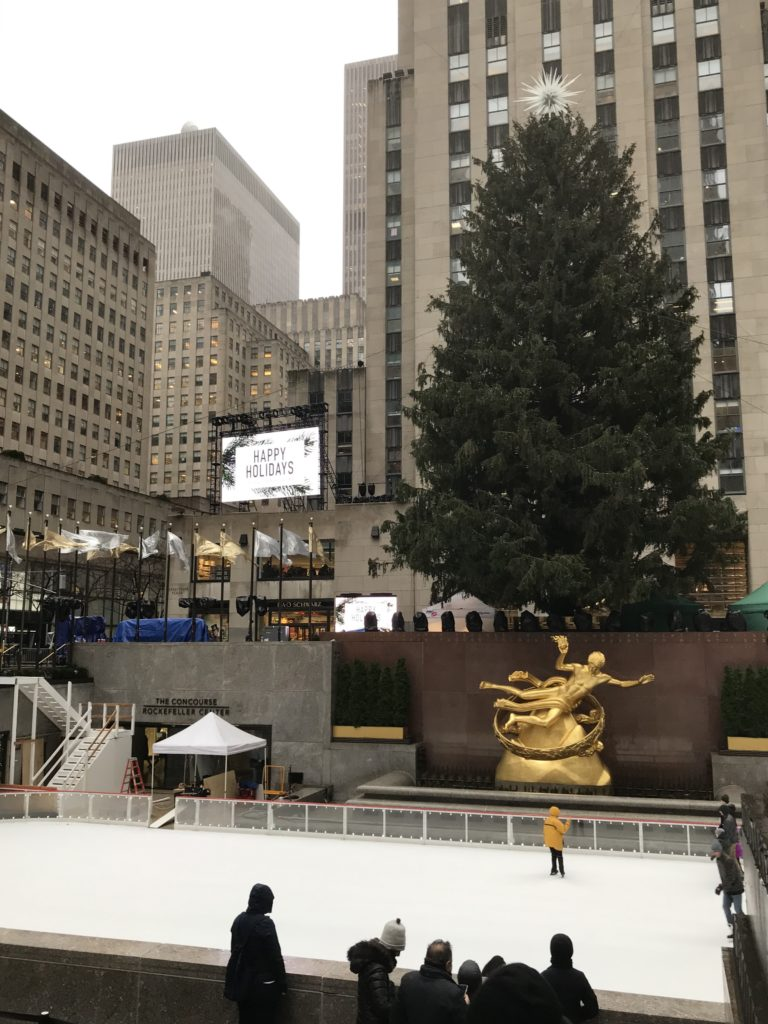Rockefeller Center New York at Christmas