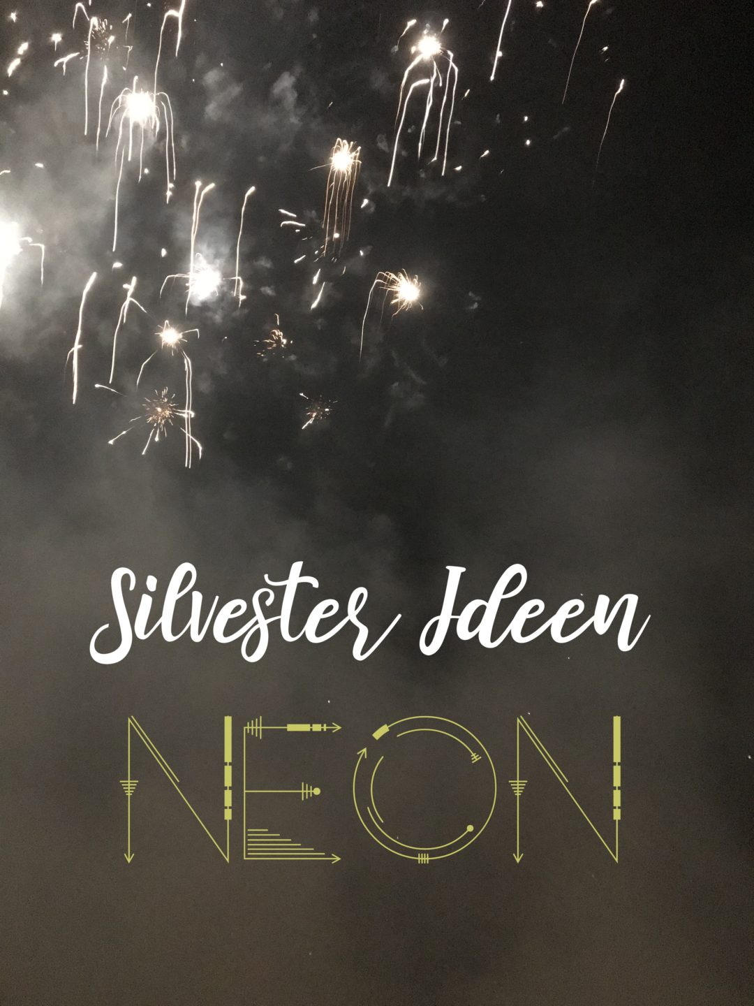 Silvester IDeen mit Kindern NEON Party