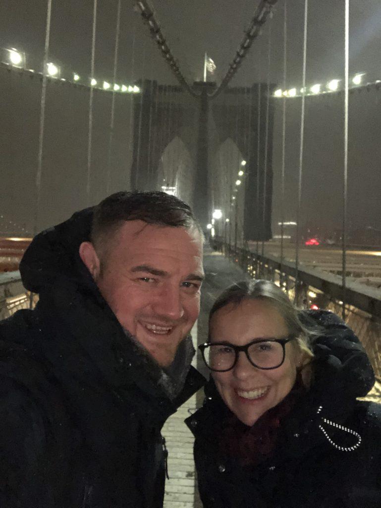 me on the brooklyn bridge
