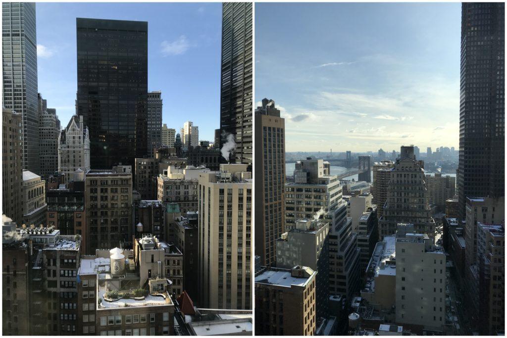Moxy Hotel New York view