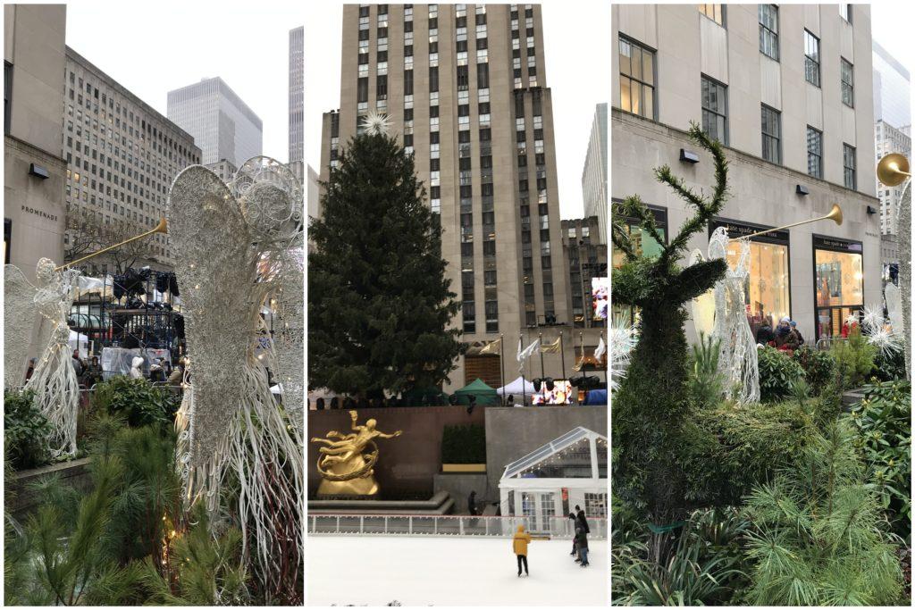 Rockefeller Center Christmas Tree Iceskating
