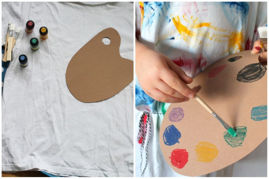 Material Maler Kostuem