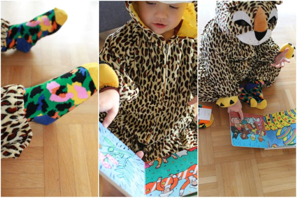 HAppy Socks Leopard Kids Costume