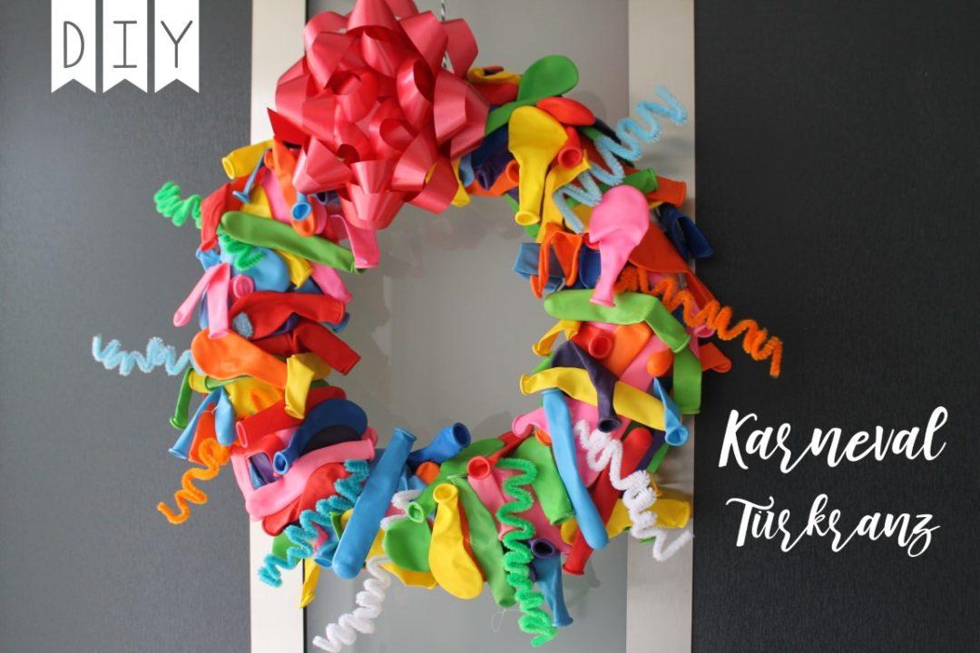 DIY Türkranz Karneval Luftballons