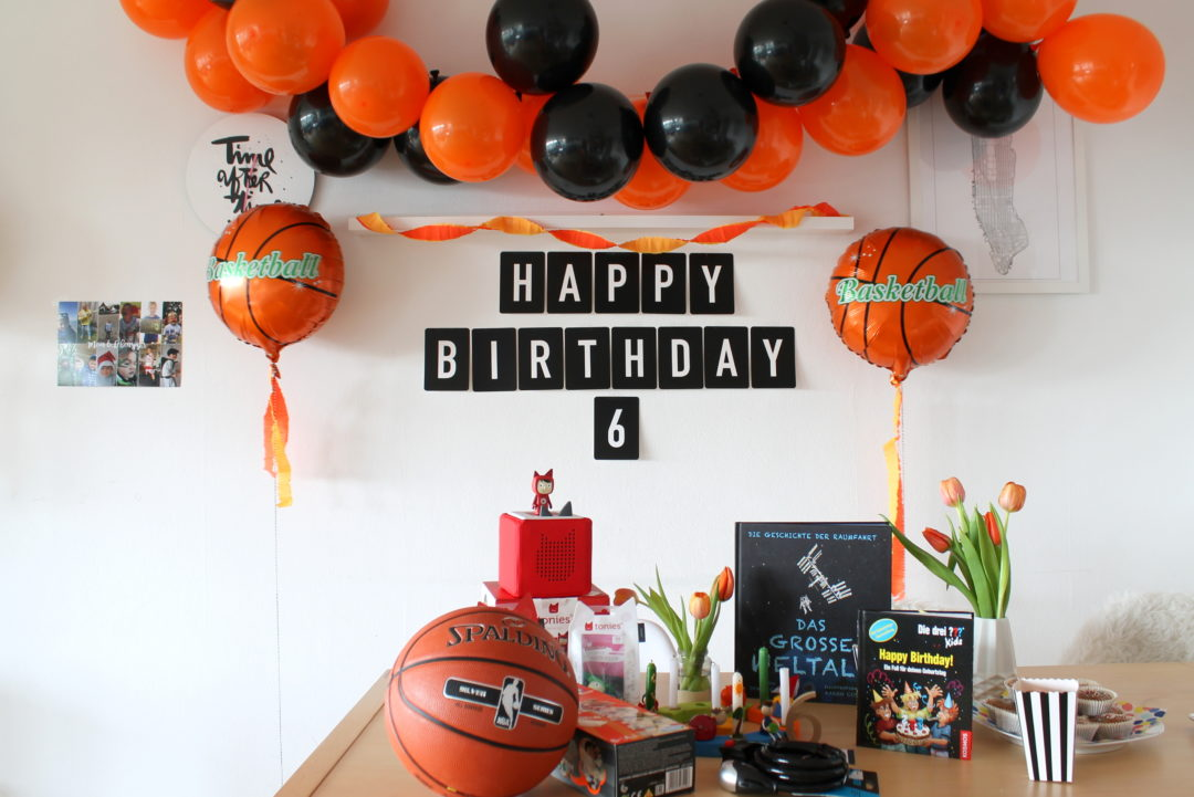 Basketball Geburtstag