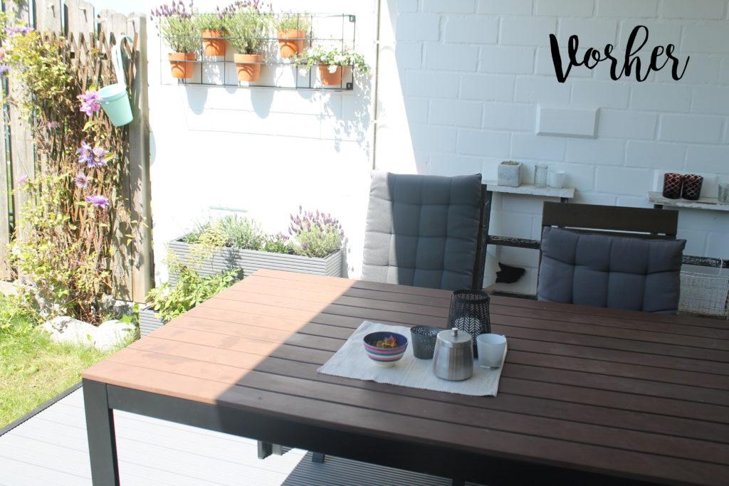 Terrassee Vorher-Nachher