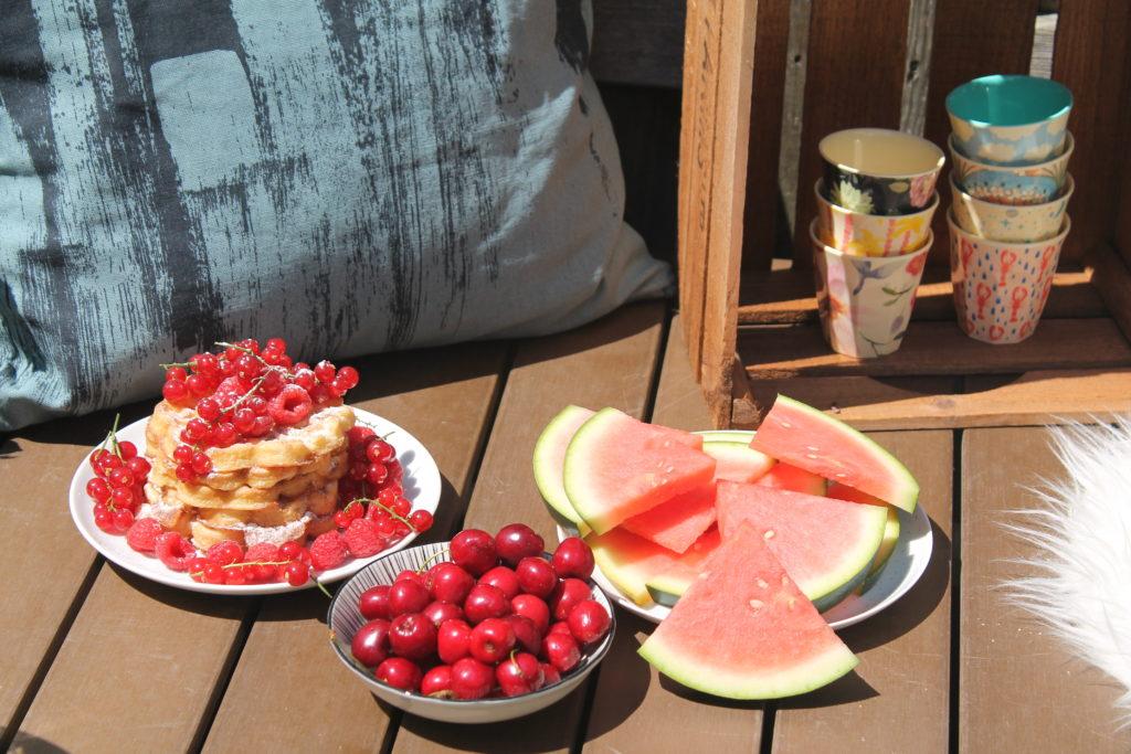 Sommer Snack Naschen gesund