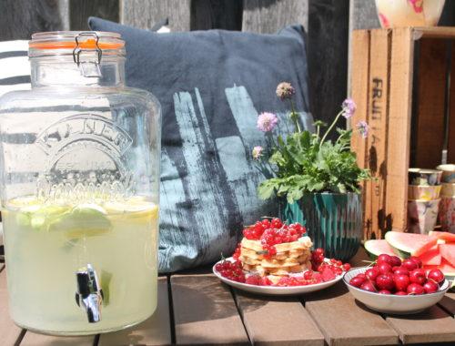 Zitronenlimo selbermachen