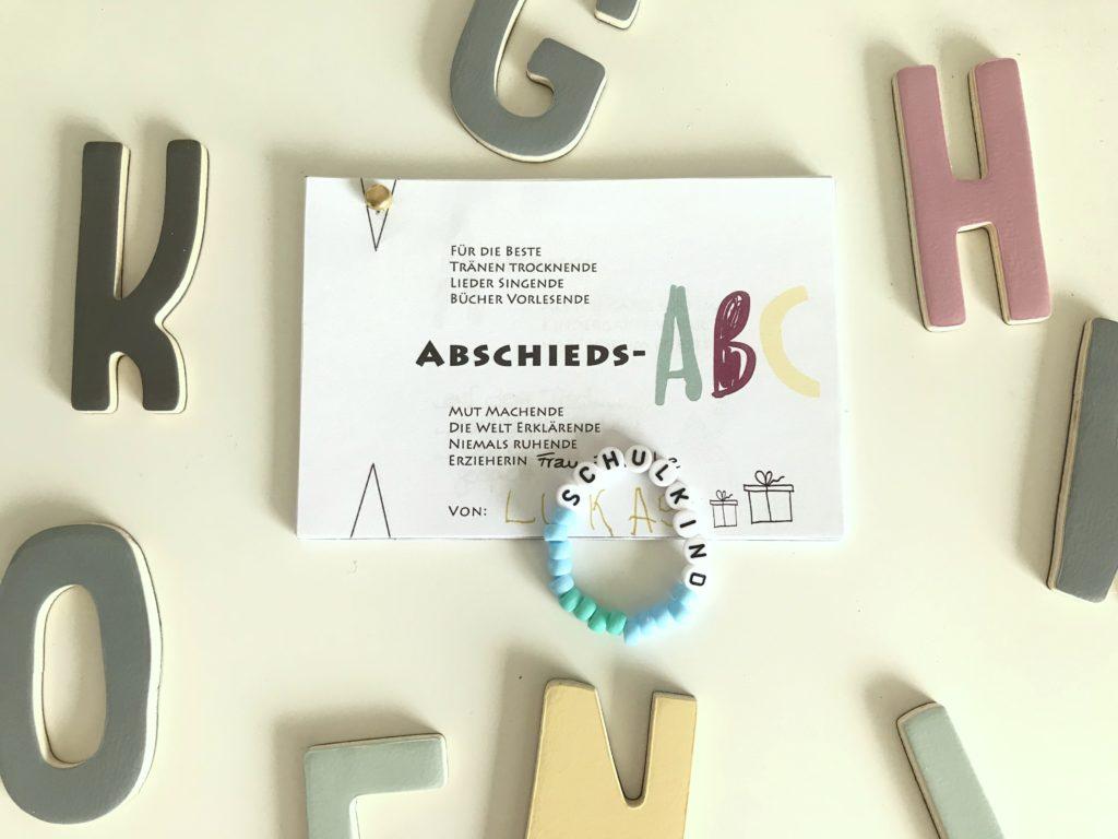 Abschieds-ABC Kindergarten