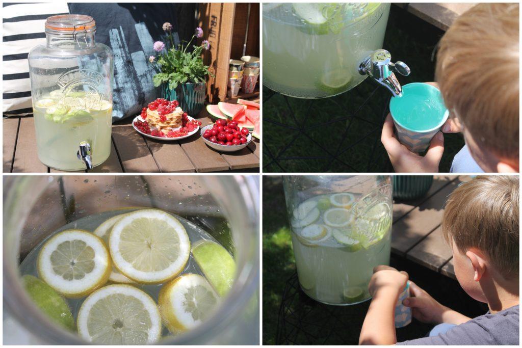Zitronenlimo Rezept Sommer DIY selbstgemacht