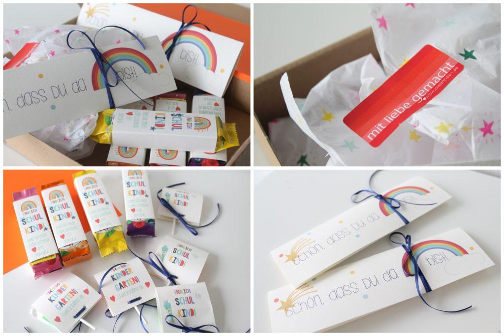 abschiedsgeschenk Kindergarten creartivbox