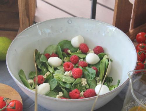 Sommersalat Grillen