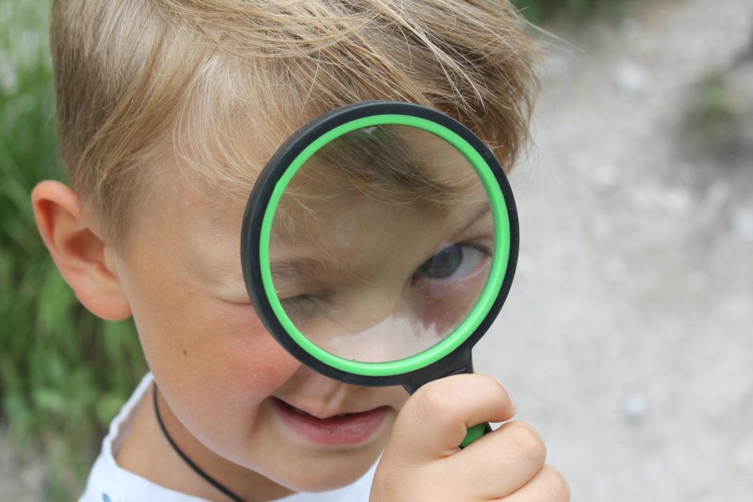 Wandern mit Kindern Forscher spielen