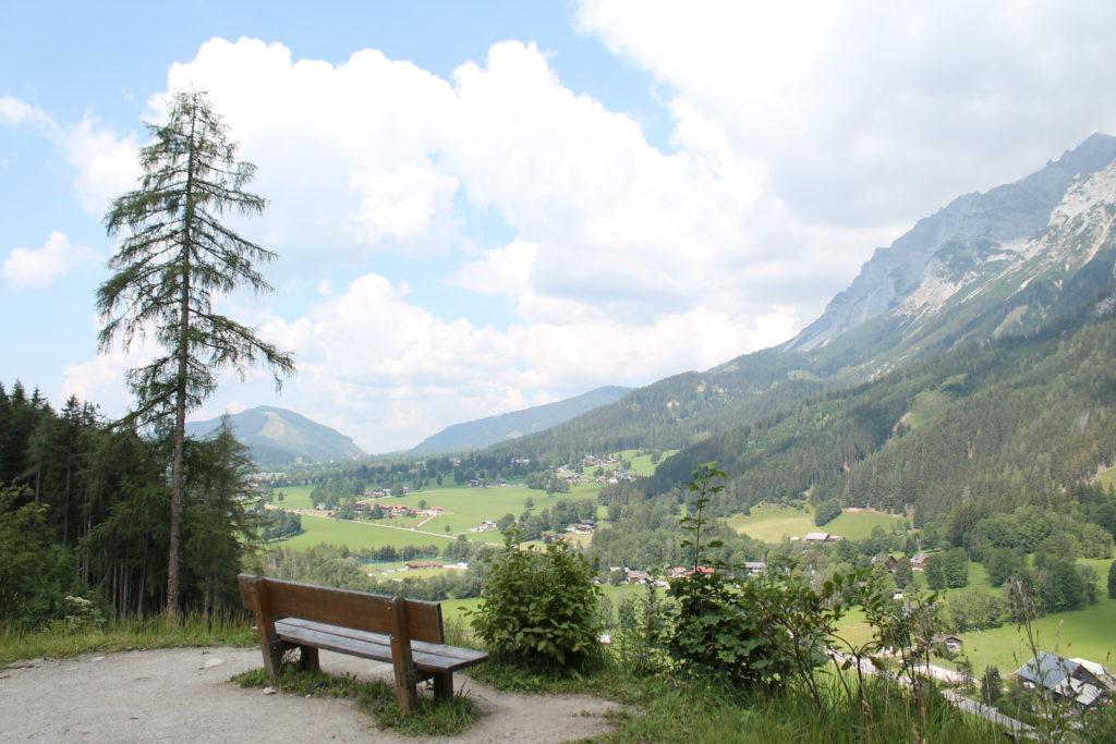 Aussicht Ramsau Dachstein