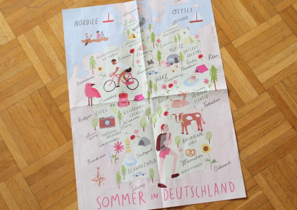 ommer in Deutschland Poster mavie