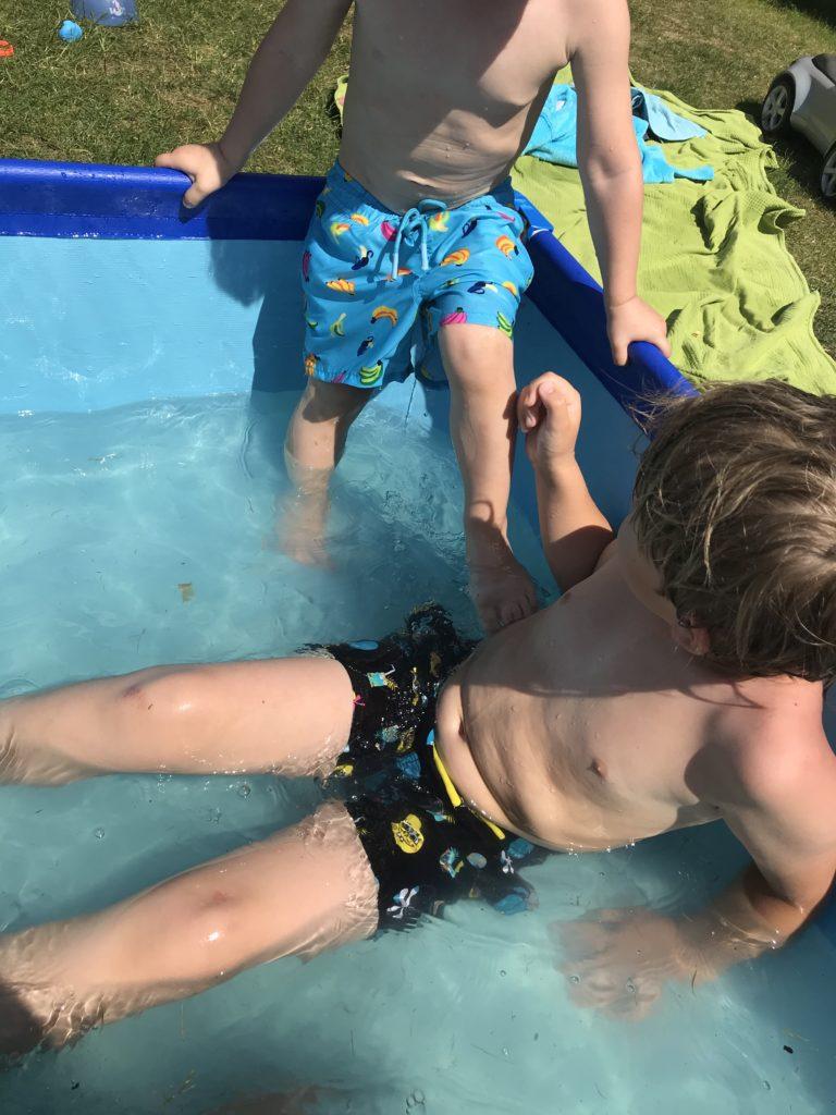 Pool Wasserschlacht