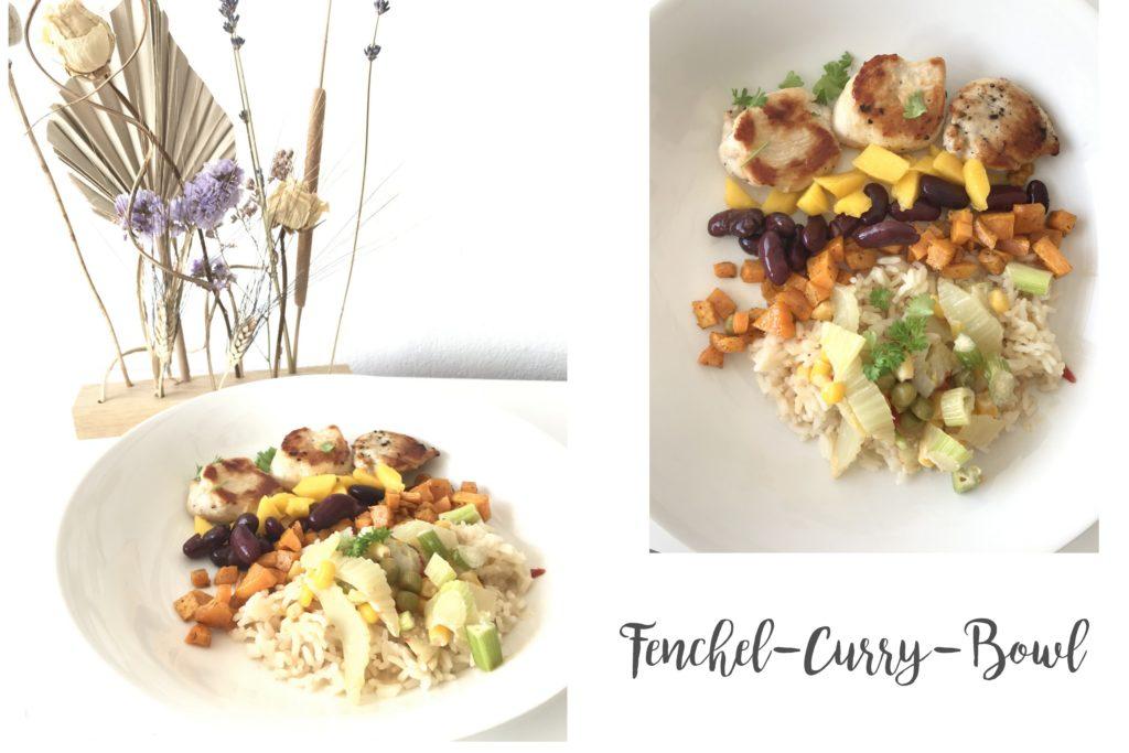 Fenchel-Curry-Bowl