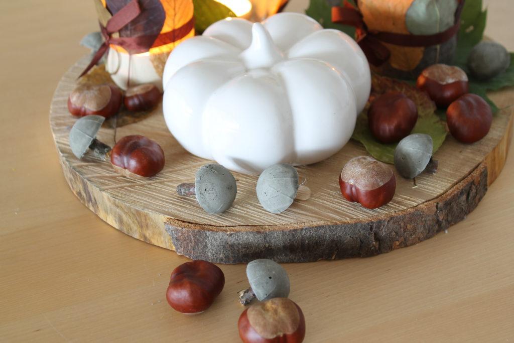DIY Pilze aus Beton Toffiffee Verpackung