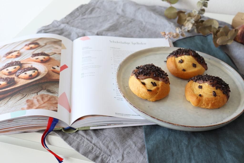 Igelbrötchen Herbst Rezept Kochen mit Christina