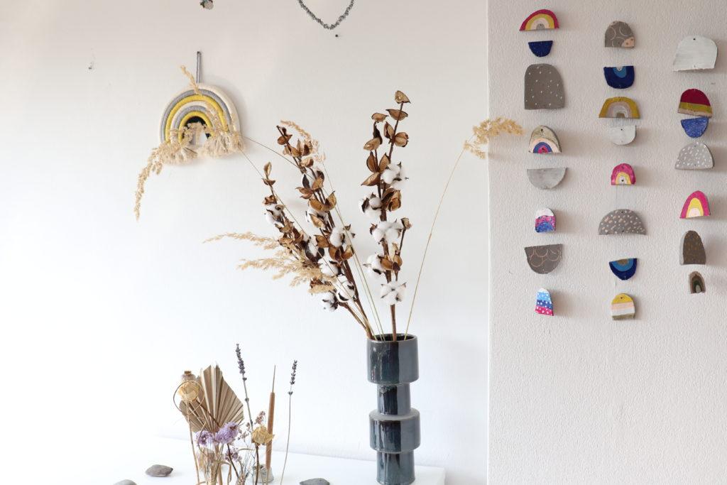 Mobile DIY Herbst Geometrische Formen Regenbogen bunt
