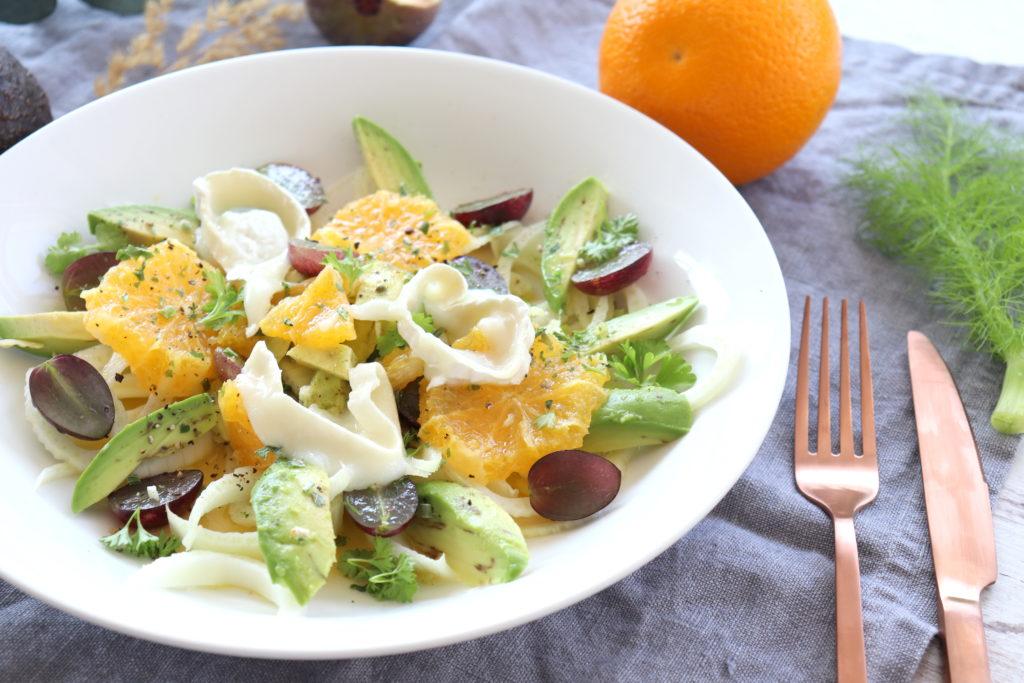 Fenchel Orangen Salat Herbst