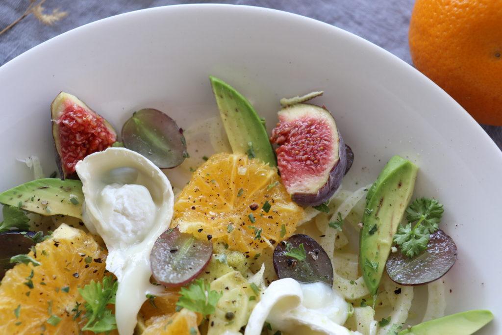 Fenchel Orangen Salat Herbst Spätsommer