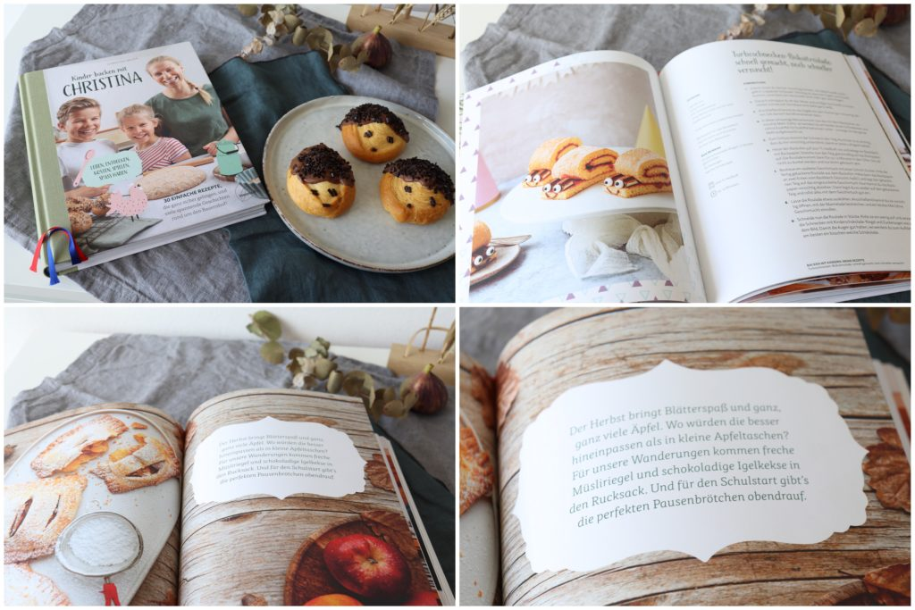 Backbuch mit Kindern