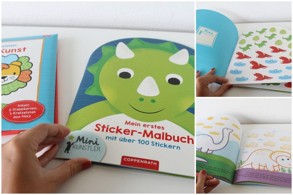 Sticker Malbuch Dinos
