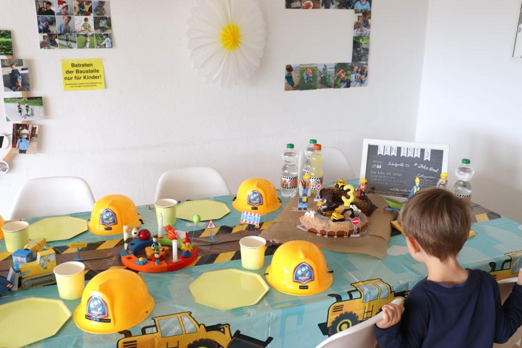 Baustellenparty Tischdeko3