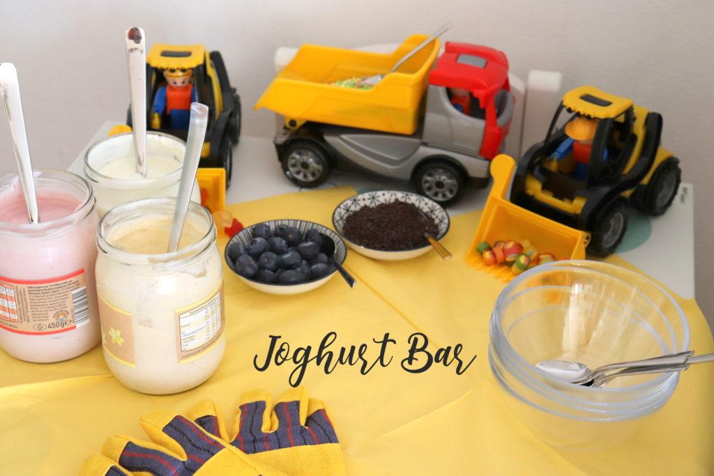 Joghurt Bar Kindergeburtstag