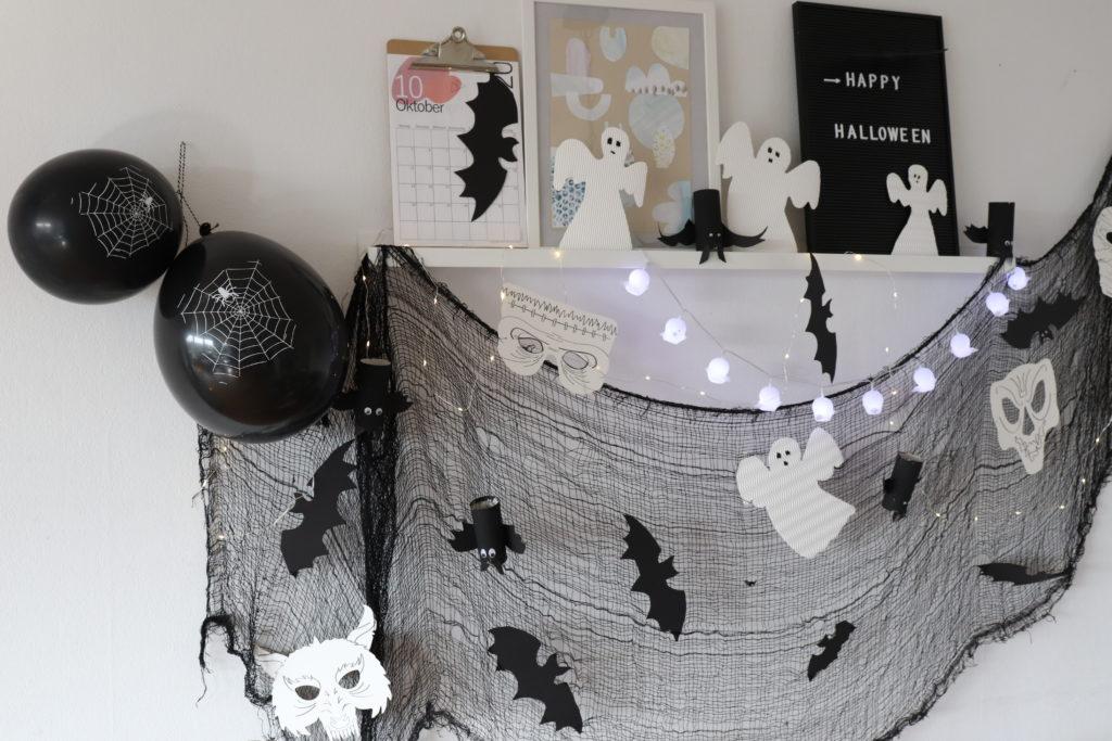 Halloween-PArtydeko DIY