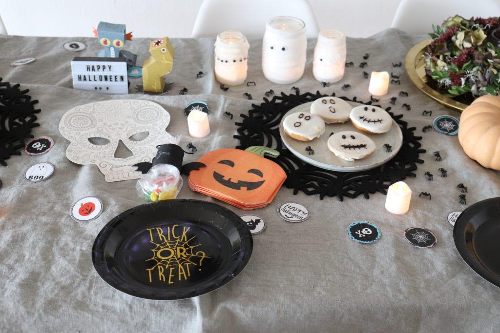 Tischdeko Halloween Gruselparty