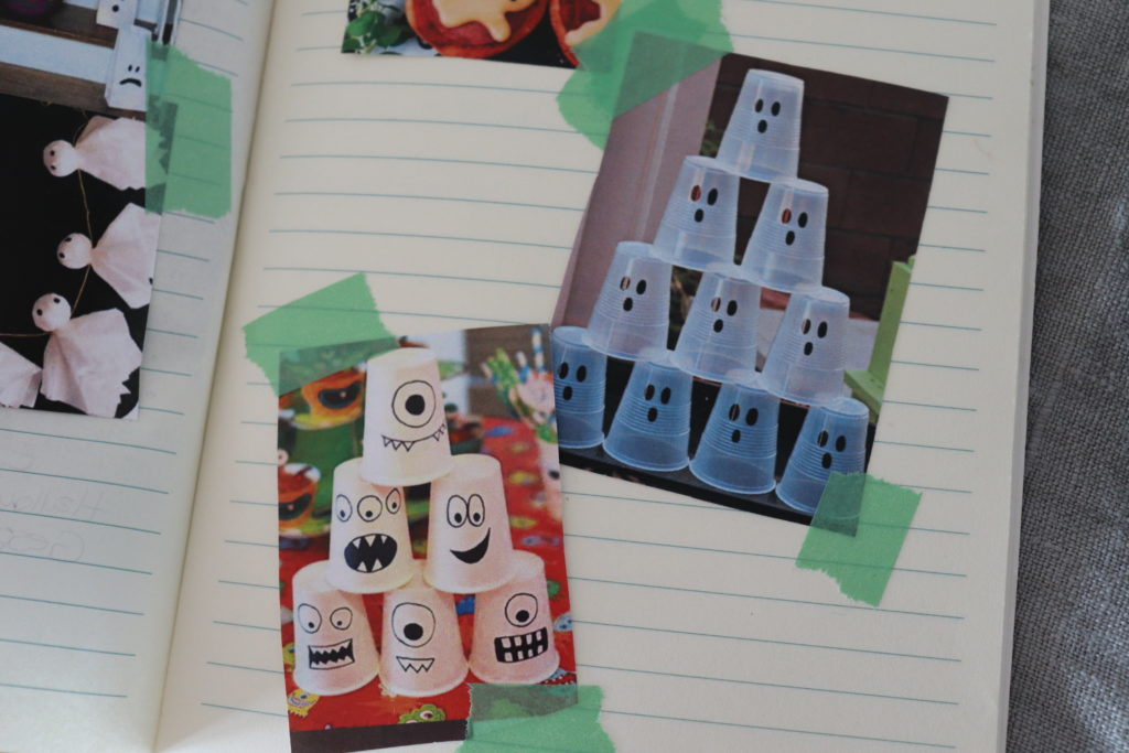 Moodboard Halloween Party Buch