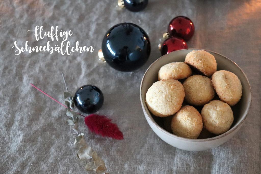 Rezept Fluffige Schneeball Kekse