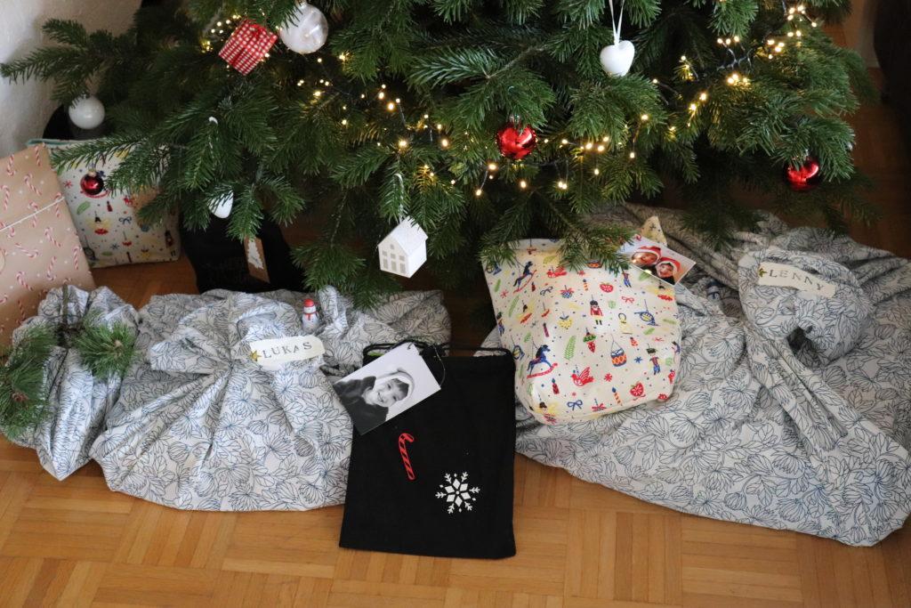 Nachhaltige Geschenkverpackungen Weihnachten