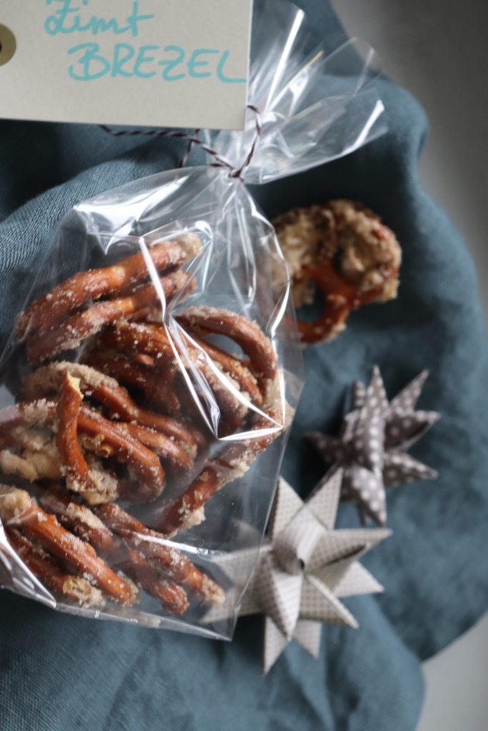 Zimt-Brezel Geschenk Snack