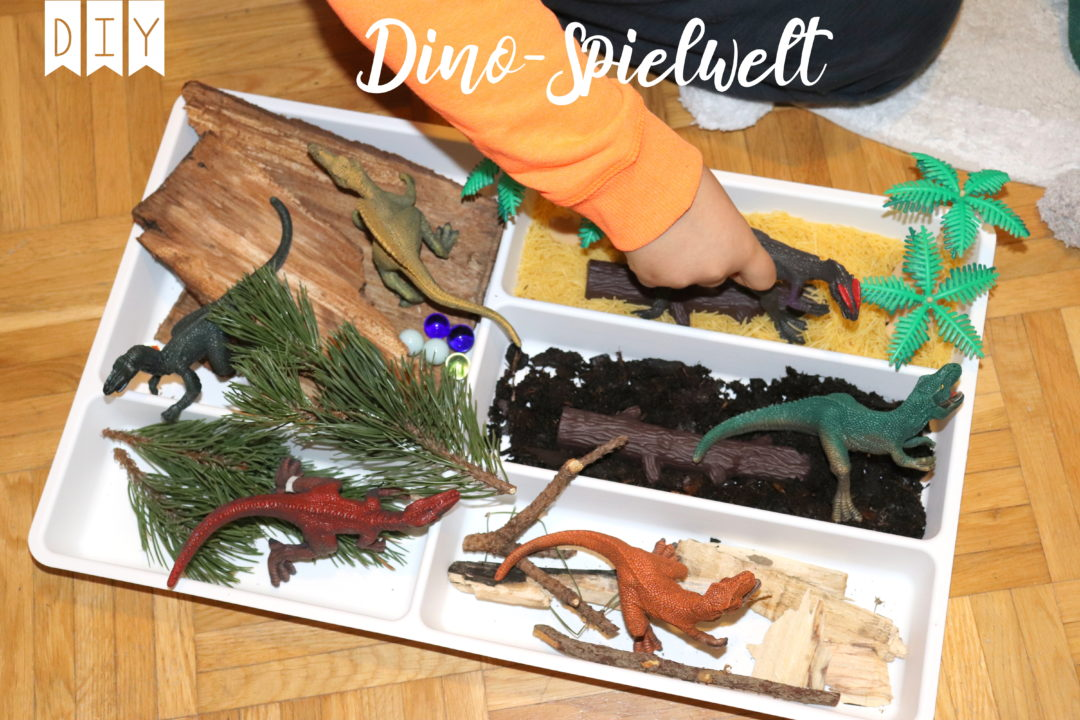 Dinosaurier Spielwelt IKEA Hack