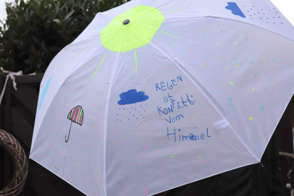 DIY_Regenschirm GEschenk
