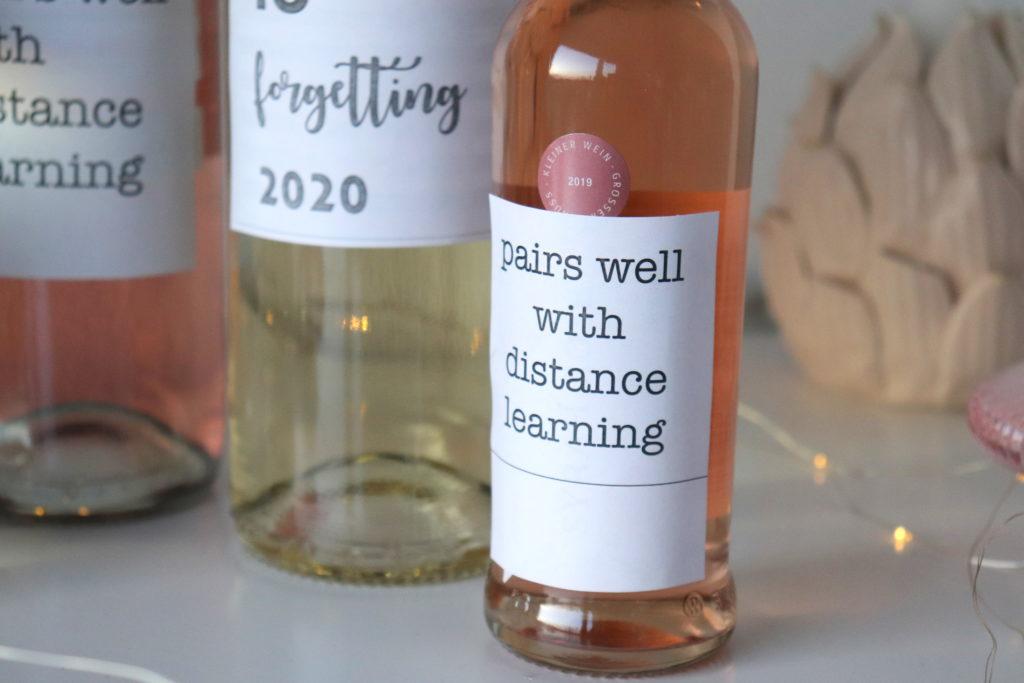 Homeschooling Wein