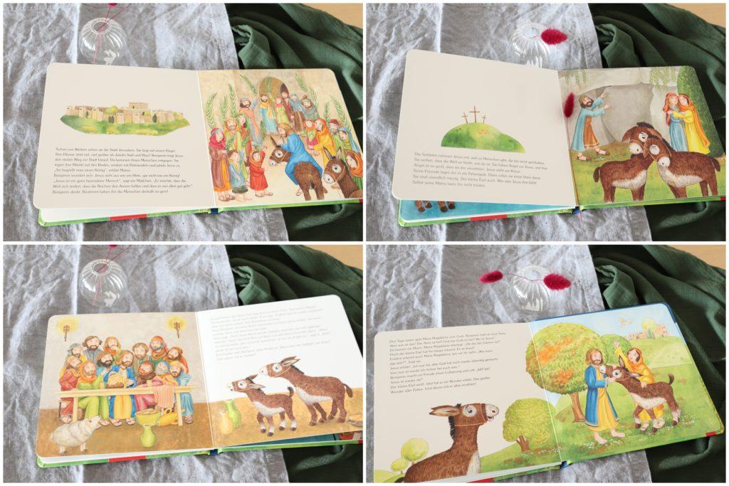 Innenteil Osterbuch Kinder GEschenkidee