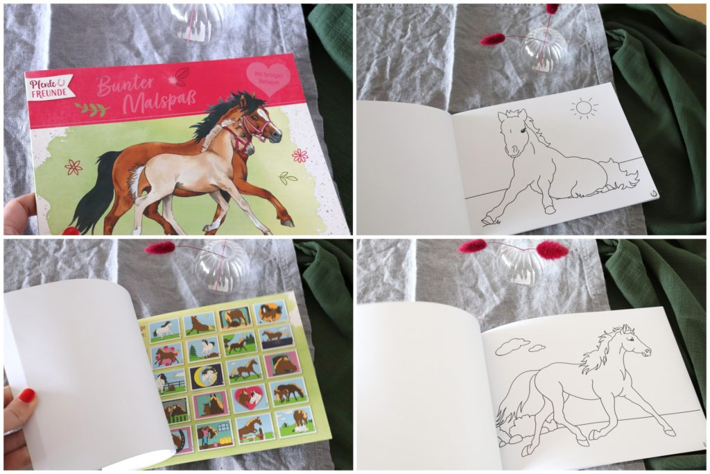 Pferde Malbuch Geschenktipp