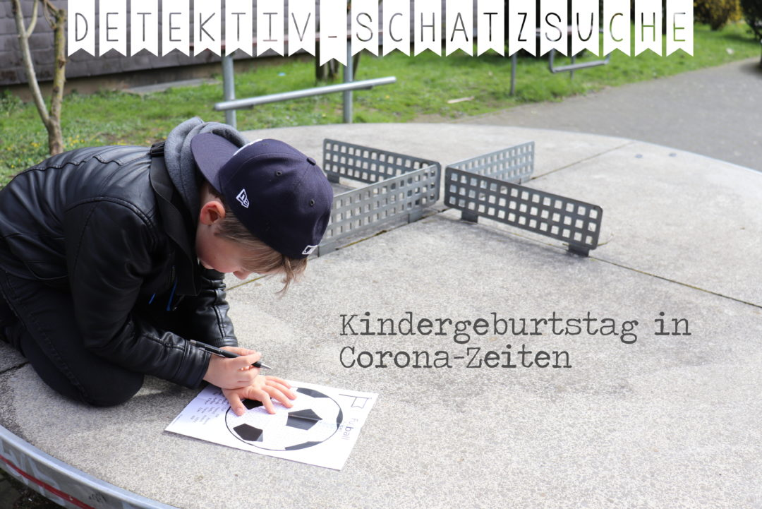 Corona-Kindergeburtstag_Schatzsuche