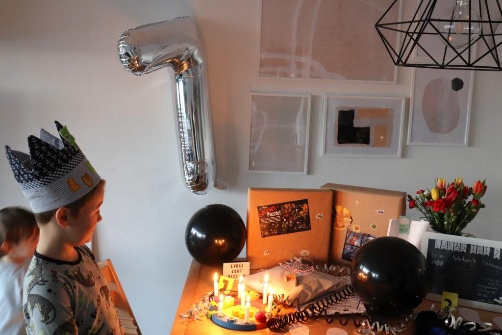 Geburtstagsmorgen