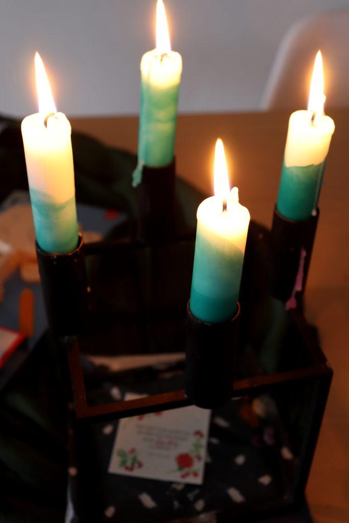 Babygeschenkideen Geburt Kerzen