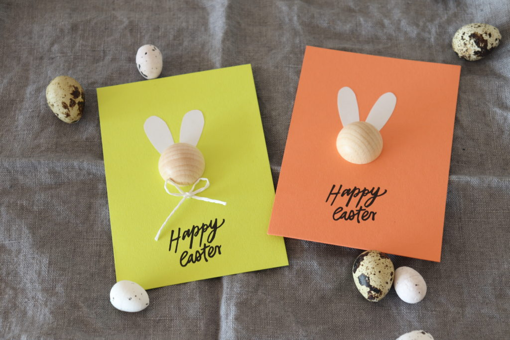 Happy Easter DIY Karte Hasen Bunny