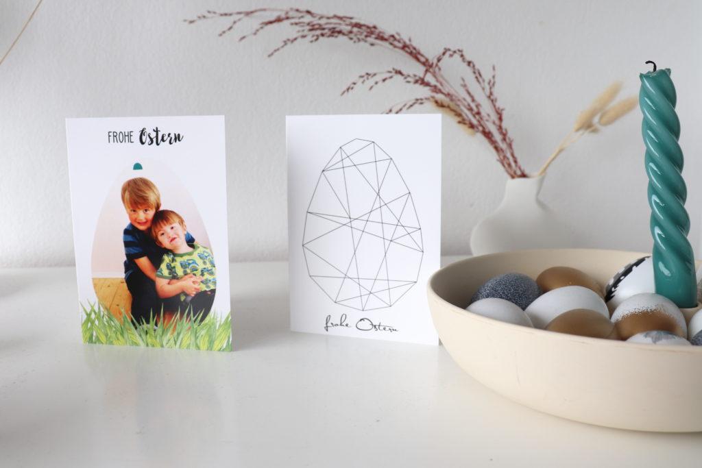 Osterkarten personalisiert