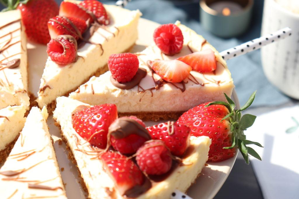 Cheesecake-Fruechte