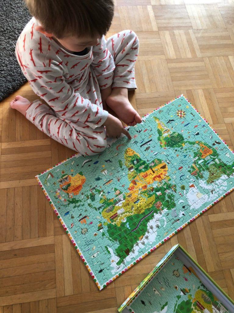 Puzzle_Weltkarte