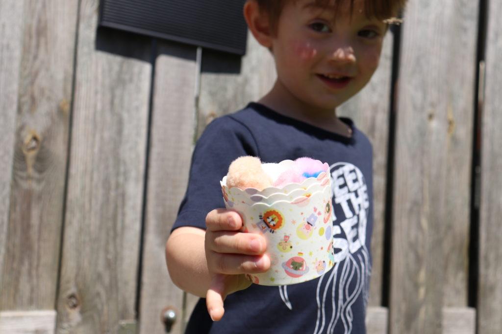 Eiscafe DIY Spielwelt Sommer Garten