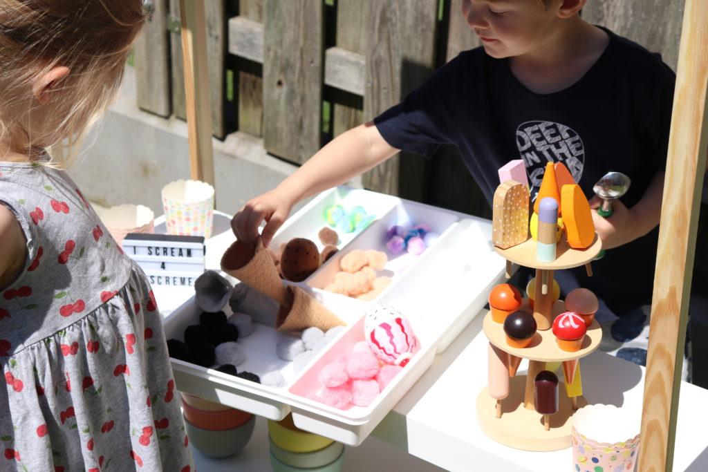 Eiscafe DIY Spielwelt Sommer Garten 2